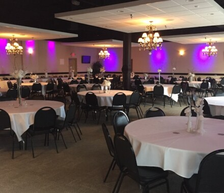 The Cotillion Wedding Venue Kansas City Blue Springs purple