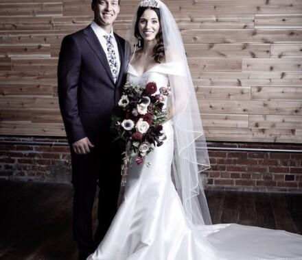 The Otten on Main Wedding Venue Kansas City couple