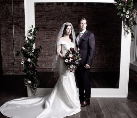 The Otten on Main Wedding Venue Kansas City frame