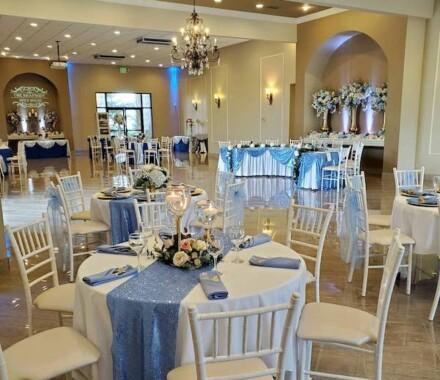The Rhapsody Kansas City Wedding Venue blue