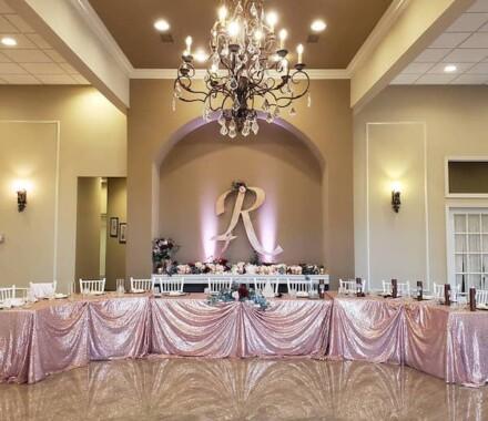 The Rhapsody Kansas City Wedding Venue blush