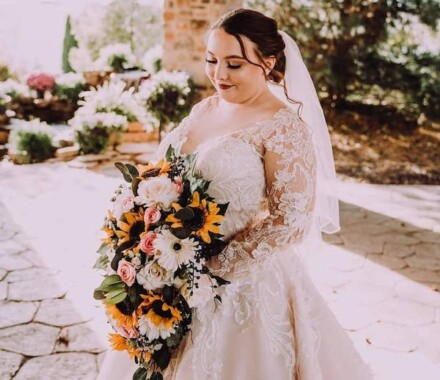 The Rhapsody Kansas City Wedding Venue bride