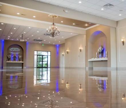 The Rhapsody Kansas City Wedding Venue empty