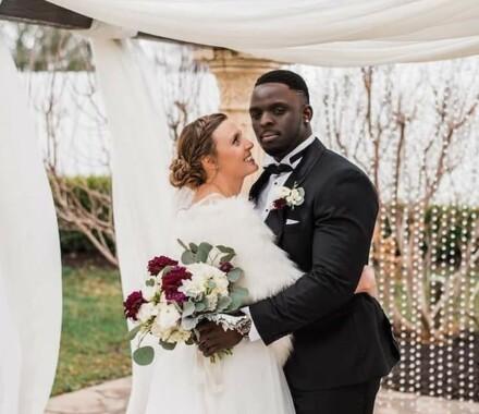 The Rhapsody Kansas City Wedding Venue hug