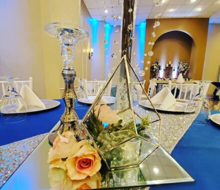 The Rhapsody Kansas City Wedding Venue mirror