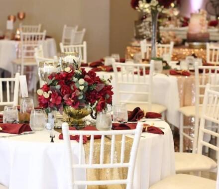 The Rhapsody Kansas City Wedding Venue red