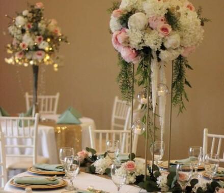 The Rhapsody Kansas City Wedding Venue table