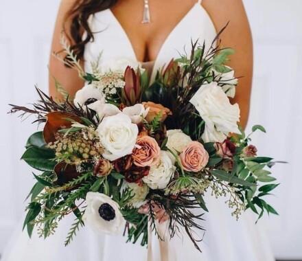 The ie Design House Kansas City Wedding Planner bouquet
