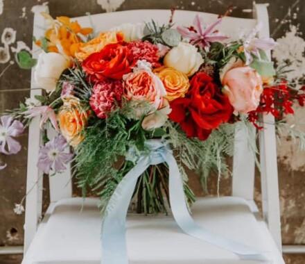 The ie Design House Kansas City Wedding Planner flowers
