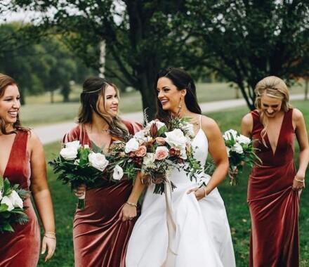 The ie Design House Kansas City Wedding Planner ladies