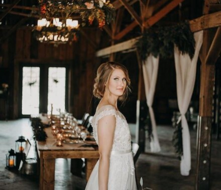 Tobacco Barn Farm Kansas City Wedding Venue bride
