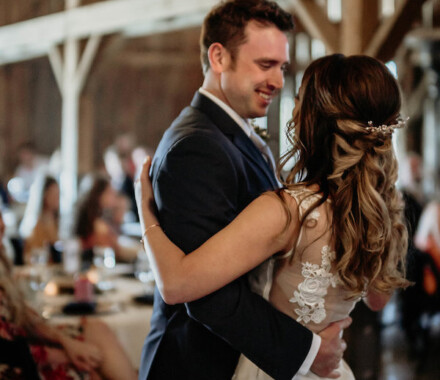 Tobacco Barn Farm Kansas City Wedding Venue dance