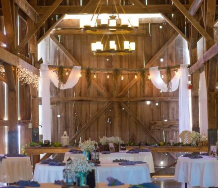 Tobacco Barn Farm Kansas City Wedding Venue drape