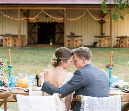 Tobacco Barn Farm Kansas City Wedding Venue forehead