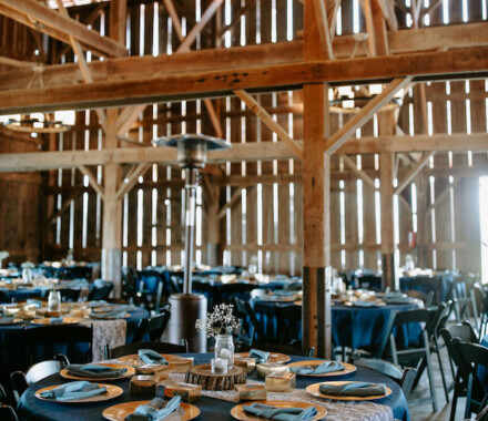 Tobacco Barn Farm Kansas City Wedding Venue heat