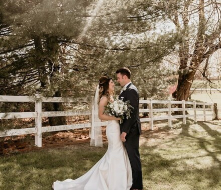 Tobacco Barn Farm Kansas City Wedding Venue sun
