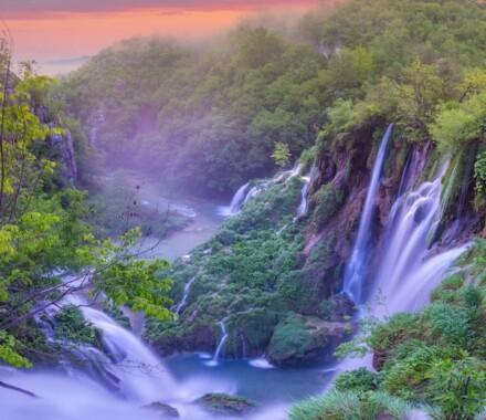 Travel Unrivaled Kansas City Agent waterfall