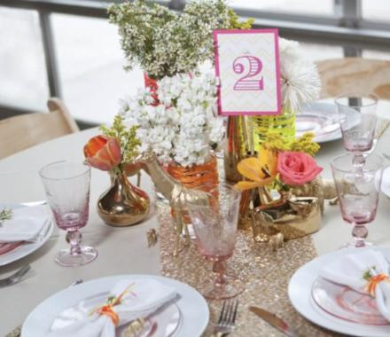 Ultrapom Event Rental Kansas City Wedding pink
