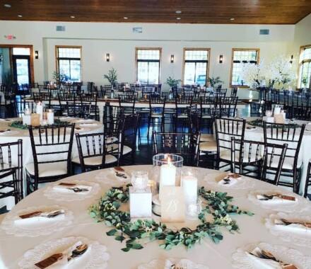 Venue at Willow Creek Kansas City Wedding Venue candles