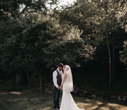 Venue at Willow Creek Kansas City Wedding Venue woods