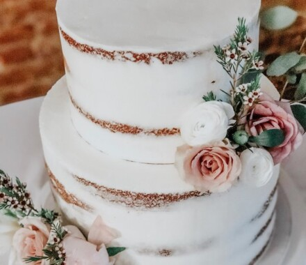 Water to Wheat Cakery Kansas City Wedding Cake blush