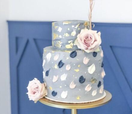 Water to Wheat Cakery Kansas City Wedding Cake do