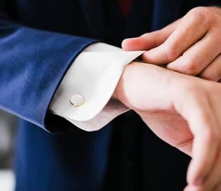 Wedding Coordination by Jeanette Carter Planner Kansas City cufflink