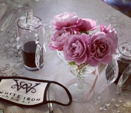 White Iron Ridge Wedding Venue Kansas City flowers