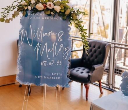 yellowbrick graphics wedding invitations display