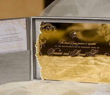 yellowbrick graphics wedding invitations gold