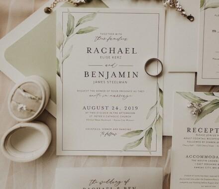 yellowbrick graphics wedding invitations soft