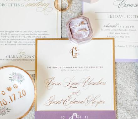 yellowbrick graphics wedding invitations suite