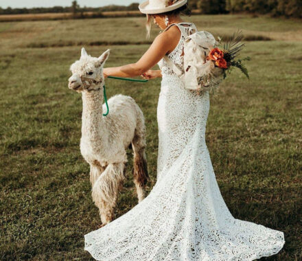 Anne Marie Designs Kansas City Jewelry Wedding llama