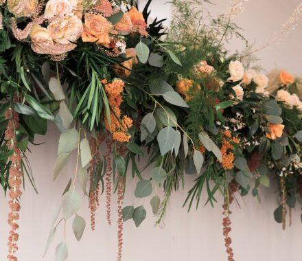 Bel Fiore Farm and Floral Wedding Kansas City Florist above