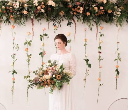 Bel Fiore Farm and Floral Wedding Kansas City Florist aisle