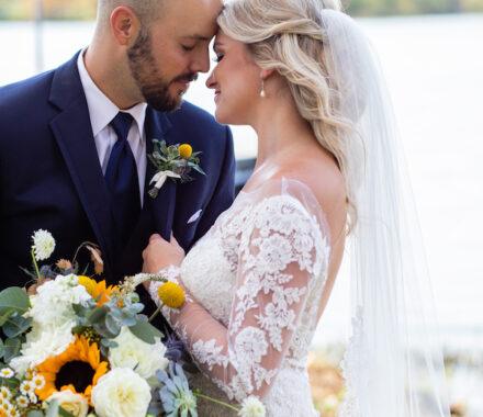 Bel Fiore Farm and Floral Wedding Kansas City Florist couple