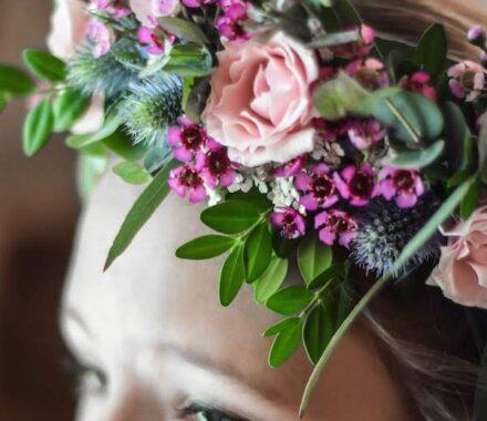 Bel Fiore Farm and Floral Wedding Kansas City Florist head