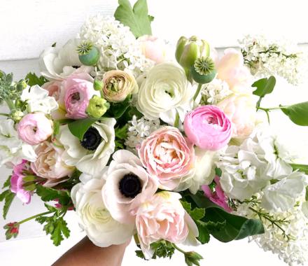 Bel Fiore Farm and Floral Wedding Kansas City Florist light
