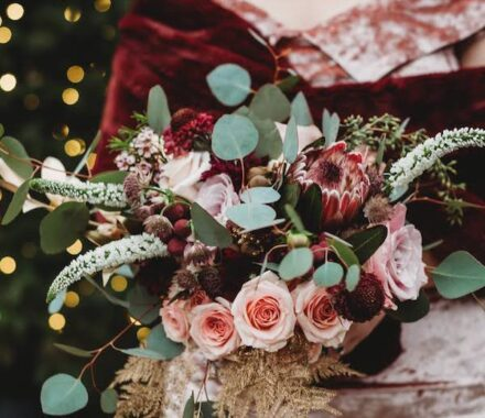 Bel Fiore Farm and Floral Wedding Kansas City Florist plum
