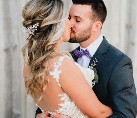 Effjay Photography Kansas City Photographer Wedding kiss