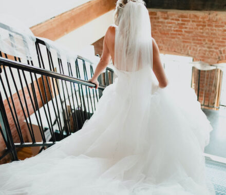 Effjay Photography Kansas City Photographer Wedding railing