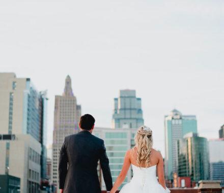 Effjay Photography Kansas City Photographer Wedding skyline