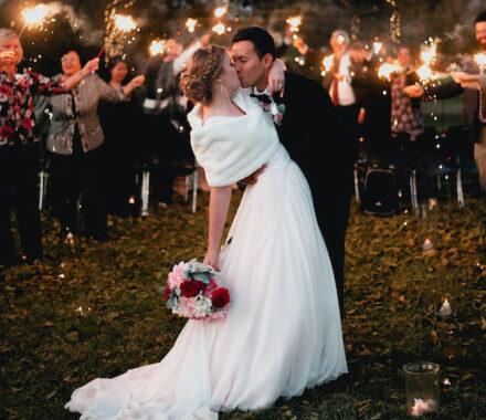 Effjay Photography Kansas City Photographer Wedding sparklers
