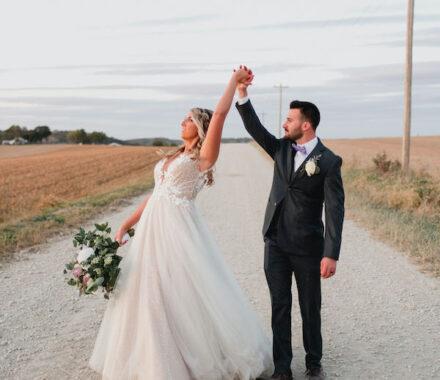 Effjay Photography Kansas City Photographer Wedding twirl