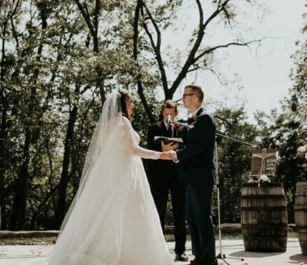 Erishyll Mae Photography Kansas City Wedding ceremony