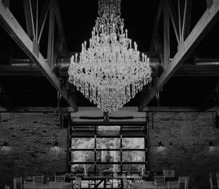 Erishyll Mae Photography Kansas City Wedding chandelier
