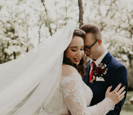 Erishyll Mae Photography Kansas City Wedding veil