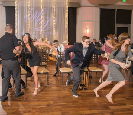 Levity Weddings and Events DJ Kansas City game