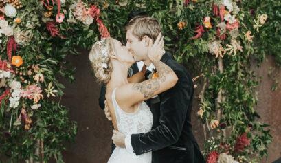 Urban Garden Wedding at The Hobbs Building