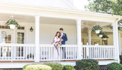 Southern charm wedding at hawthorne house